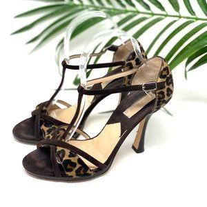 Michael Kors Peyton Cheetah Print Heels 7